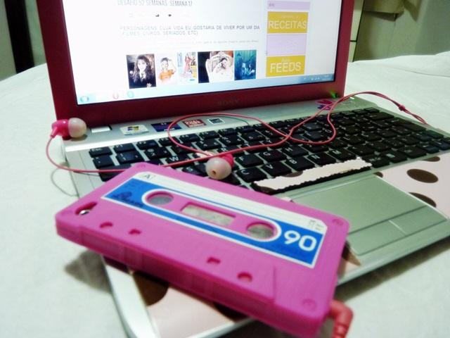 Computador + iPoly + fones