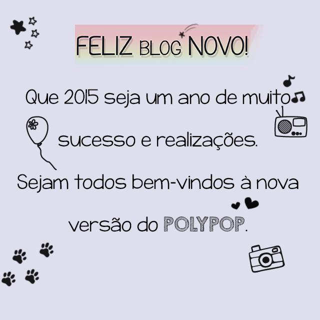 Ano Novo, Blog Novo